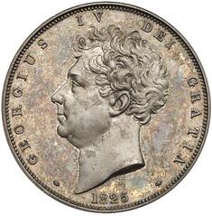 1825 George IV Proof Crown obverse