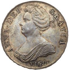 1703 Anne Vigo Crown obverse