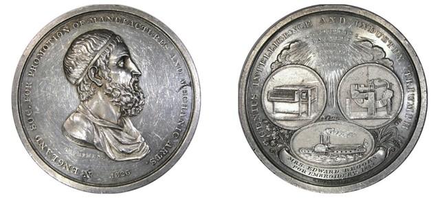 1826 Archimedes medal