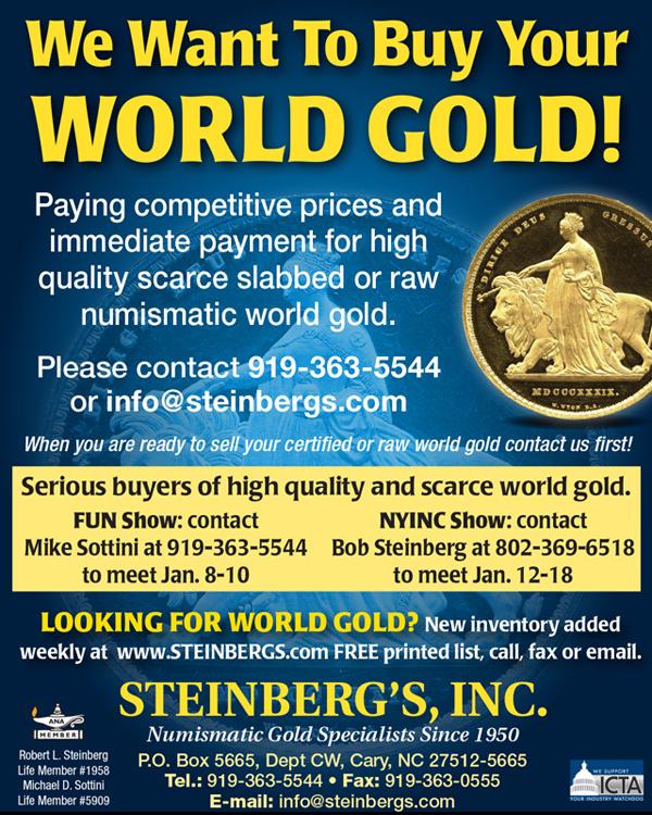 E-Sylum Steinbergs 2019-12-15 new stock