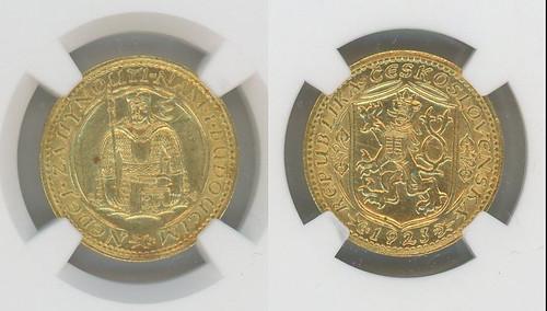 1923 Czechoslovakia Gold Ducat