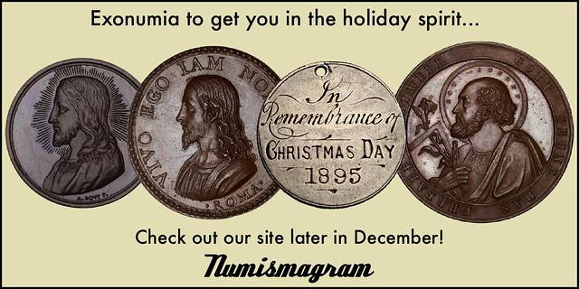 E-Sylum Numismagram ad27 Christmas