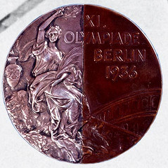 Olympic Half-and-Half medal