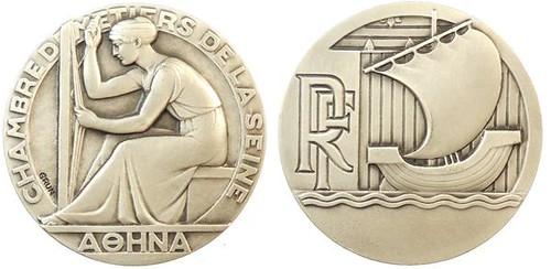 CHAMBRE DE METIERS DE LA SEINE Medal