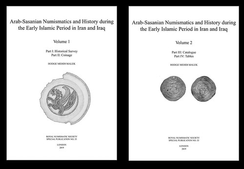 Arab-Sassanian Numismatics and History Vols 1-2 cover