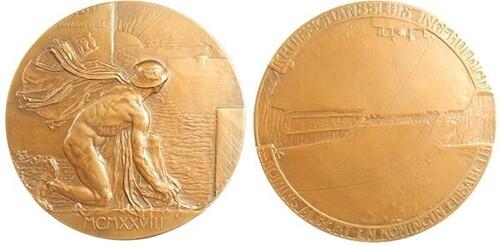 Belgium Port Extension Medal