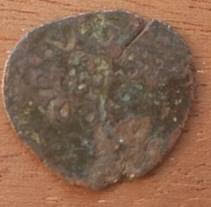 coin of Holy Roman Emperor Charles V. reverse