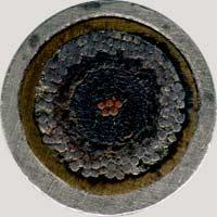 1858 Stokes Atlantic Cable token reverse
