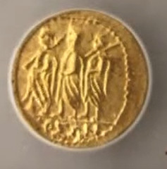 Greek Tracian gold stater slabbed