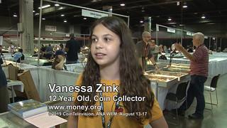 young numismatist Vanessa Zink
