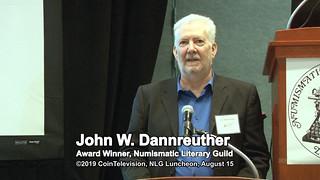John Dannreuther Wins NLG 2019 Book of Year Award