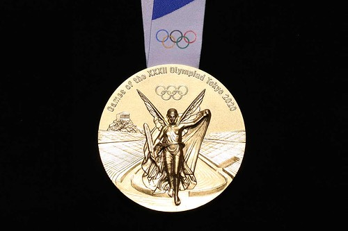 2020 Tokyo Olympics gold medal