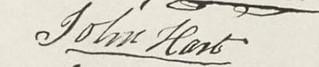 John-Hart signature