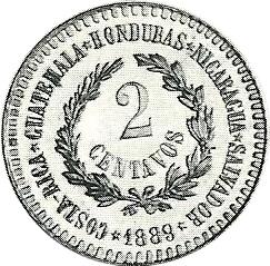 2 Cents, 1889, Pattern, Reverse (Alman 05-82)