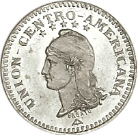 1 Cent, 1889, Obv, Pattern (Alm-Stick Photo)