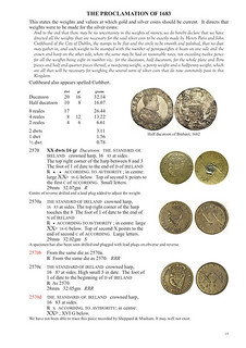 Coin Weights of Ireland sample page 2