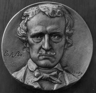 Tom Elder's Poe Medallion obverse