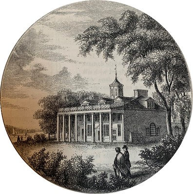 1860 Lossing view of Mount Vernon