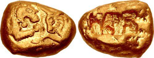 KINGS of LYDIA. Kroisos stater