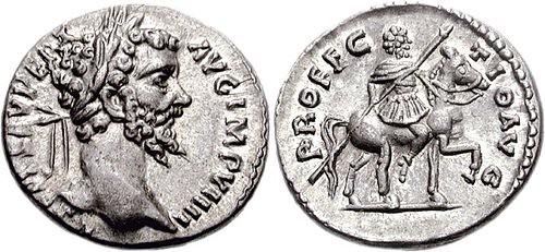 Septimius Severus. denarius