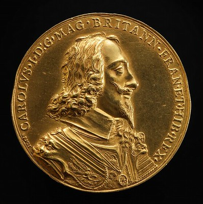 The Juxon Medal: Charles I, 1600-1649, King of England 1625 [obverse]