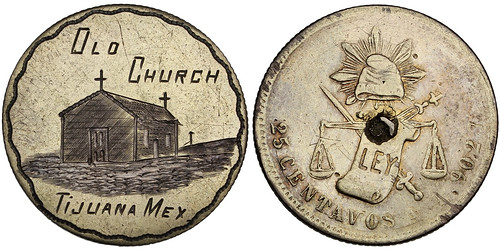Old Church Tijuana Love Token