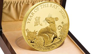 Royal Mint Year of the Rat coin