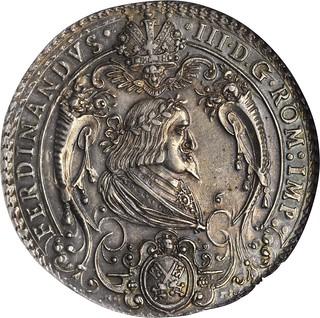 1641 Reichstag Medal obverse