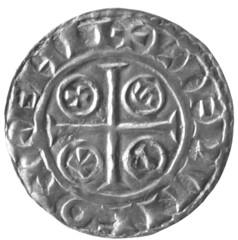 PAXS type penny of William the Conqueror reverse