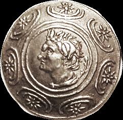 Antigonos Gonatas coin obverse