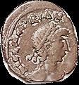 Majorian coin obverse