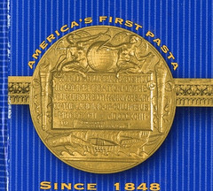 America's First pasta medal reverse