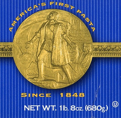 America's First pasta medal obverse