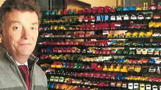 Simon Hope's Matchbox collection