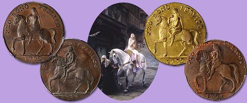 Lady Godiva tokens