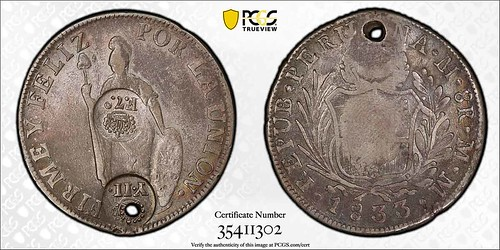Counterstamped Spanish Philippines 8 Reales