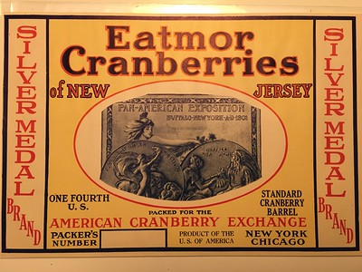 eatmor cranberries label