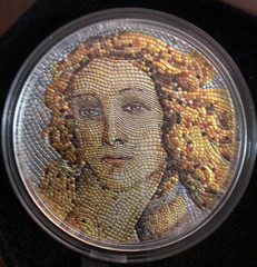 Micromosaic Birth of Venus coin
