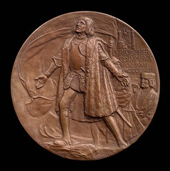 Columbian Exposition medal obverse