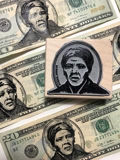 Dena Cooper Harriet Tubman overstamp