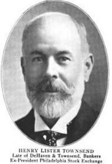 HENRY LISTER TOWNSEND