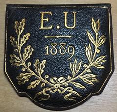 Bordeaux Exposition Medal case front
