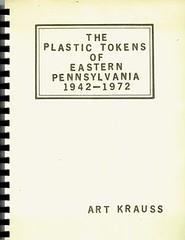 Plastic Tokens of Eastern Pennsylvania book cover