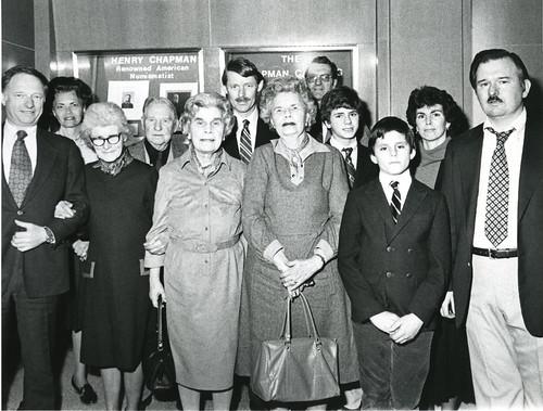 Chapman family at ANS