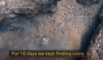 For 10 days we kept finding coins