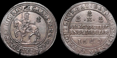 Charles I Halfpound