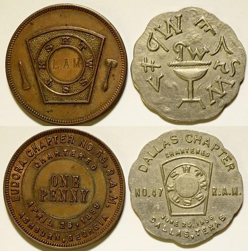 Masonic Pennies