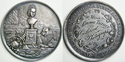 California State Agricultural Association Medal
