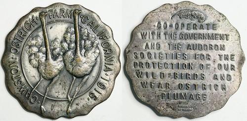 Ostrich Farm Medal