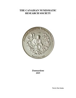 Canadian Numismatic Research Society Transactions vol 6